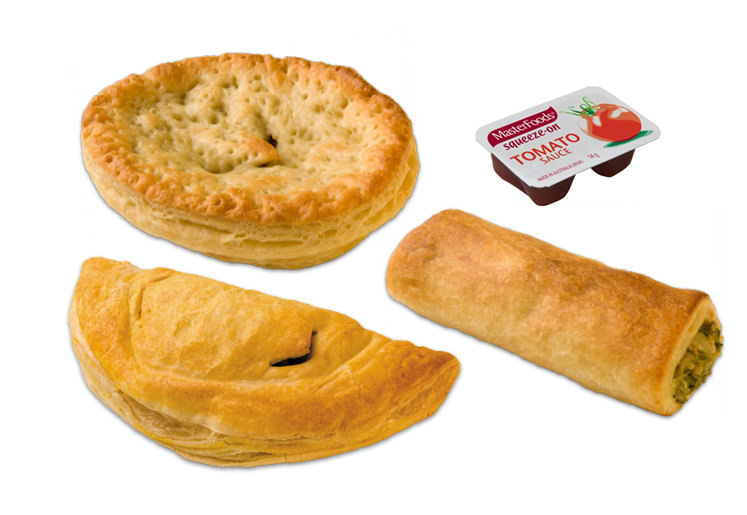 Meat Pies, Sausage Rolls, Ricottra Rolls